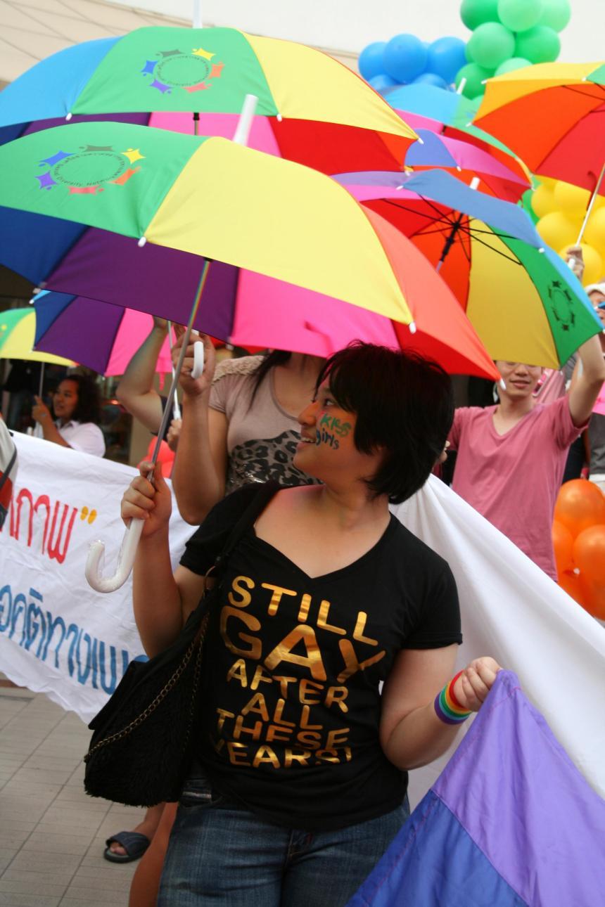 Homosexualité en Thaïlande: un combat à demi-mot