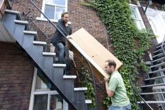 Des milliers de locataires déménagent