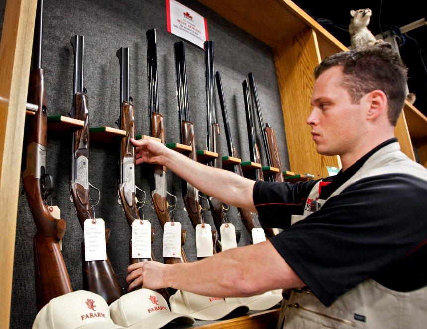 La destruction du registre des armes à feu en cour