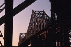 Fermeture du pont Jacques-Cartier en direction de Montréal le 13 juin
