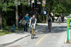 Une première vélorue à Montréal