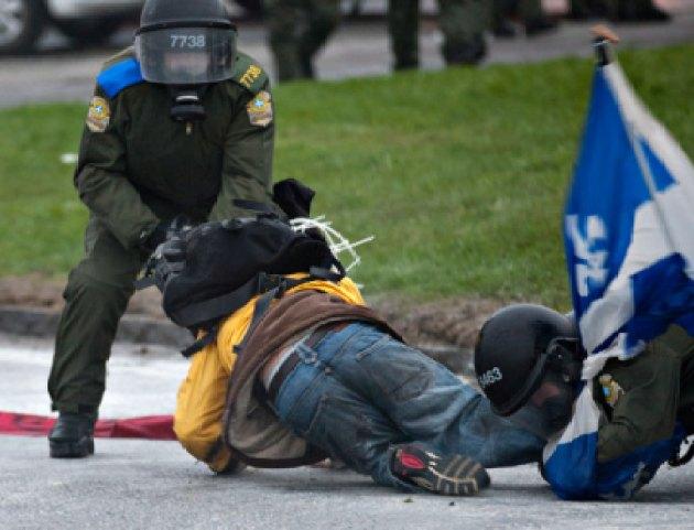 Émeutes Victoriaville