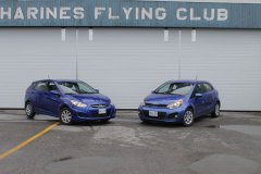 Hyundai Accent et Kia Rio: querelle de jumelles