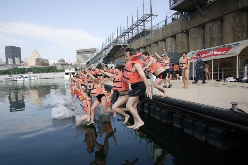 Des citoyens à l'eau pour un meilleur accès au fleuve
