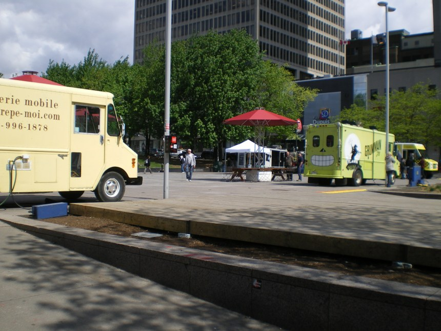 Bouffe de rue : Montréal présente neuf sites