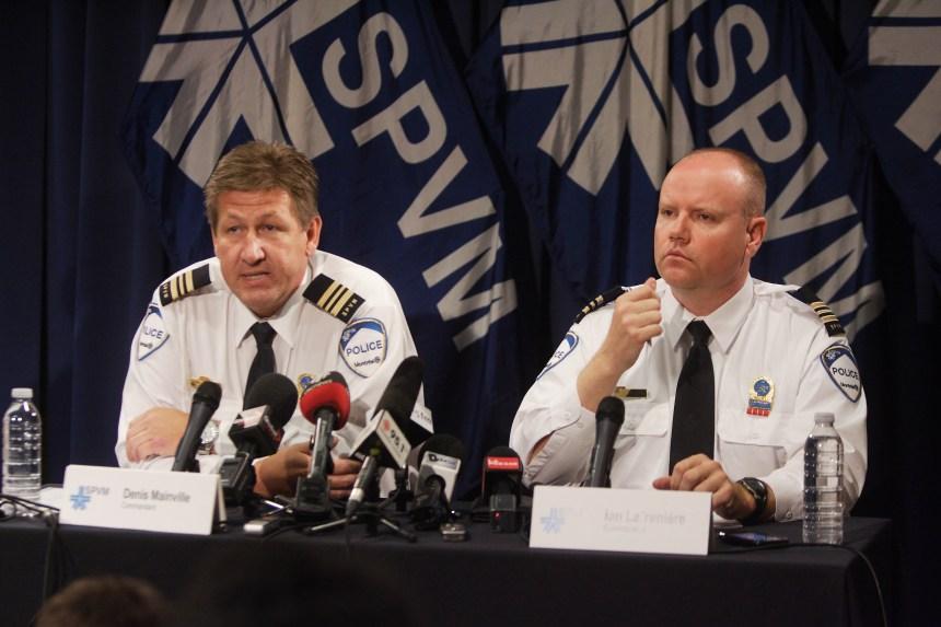 Ian Lafrenière et les policiers politiciens