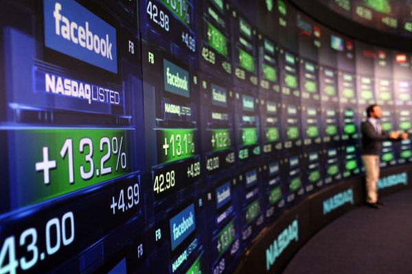 Facebook et l'indice NASDAQ 100
