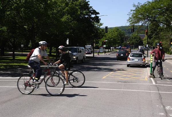 Le Code de la route dans la mire des cyclistes
