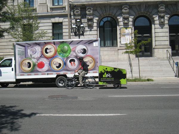 Du recyclage à vélo