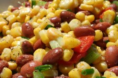 Salade de maïs minute