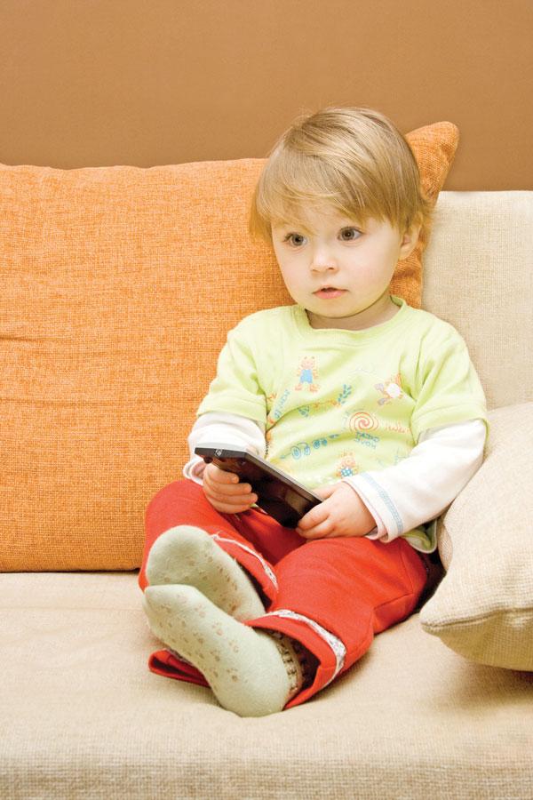 Haro sur la télé pour les bambins