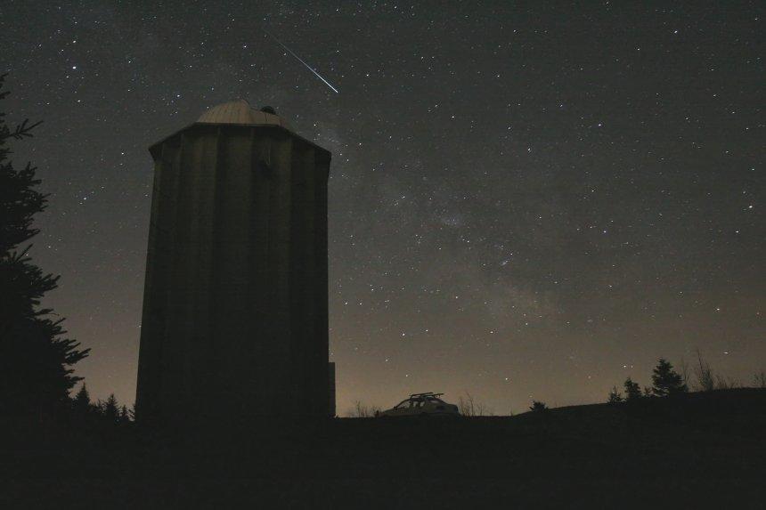 Une pluie d'étoiles filantes est prévue cette nuit