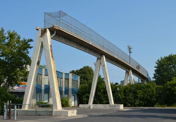 Structures condamnées dans Parc-Extension