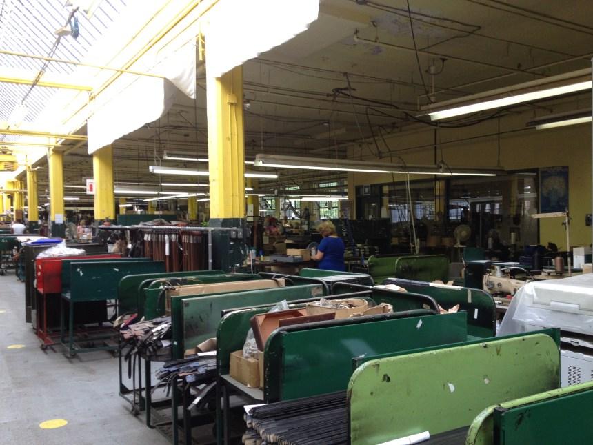 Petite visite à la grande usine de Fullum & Holt
