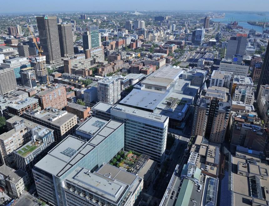 Les toits verts poussent peu à Montréal