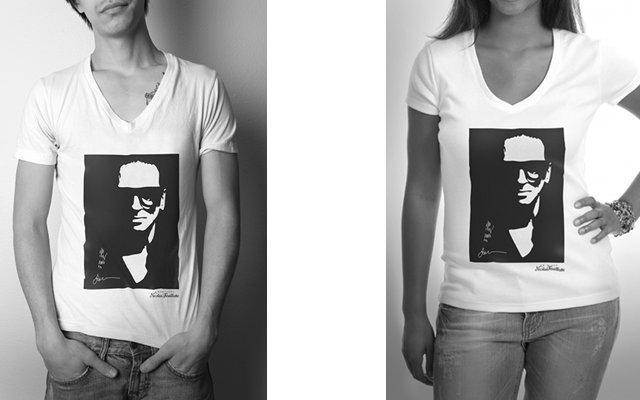 Un t-shirt pour le nouveau Fond Mode Champagne Nicolas Feuillatte