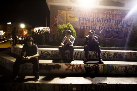 La police derrière une vague de crimes racistes en Grèce