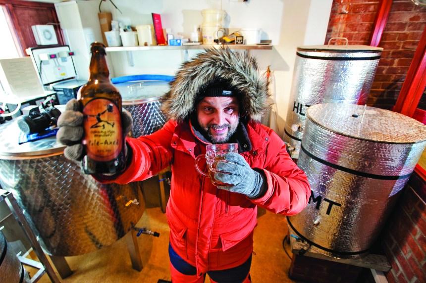 Une bière polaire pour le Pôle Sud