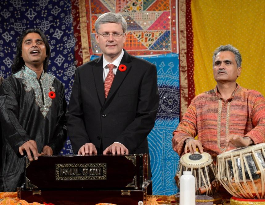 Harper amorce ce week-end une visite en Inde