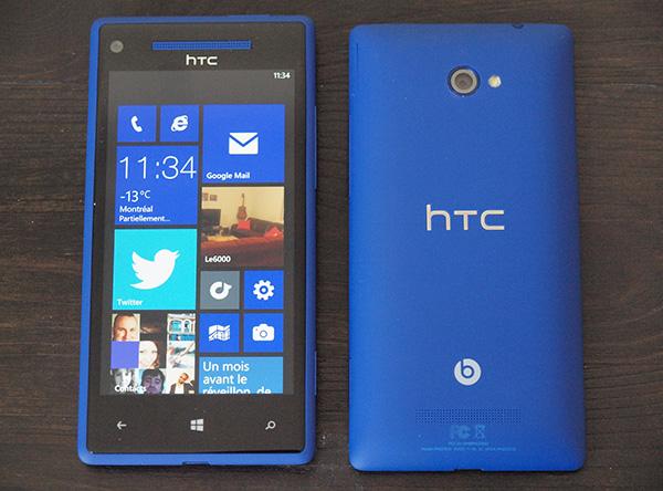 Test Du Htc Windows Phone 8x