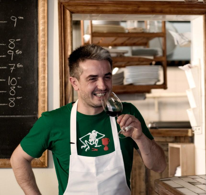 Benoît Lenglet se prête au jeu de la tague gastronomique