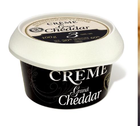 Métro papilles : Crème Grand Cheddar