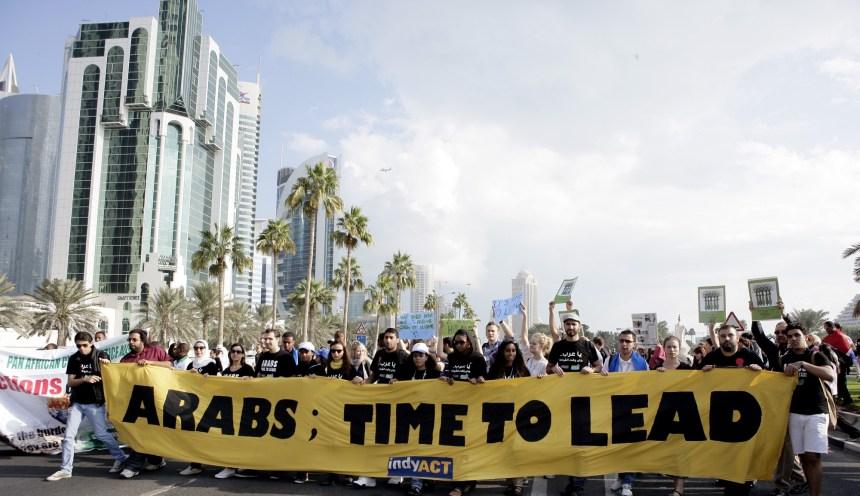 Le printemps arabe et les changements climatiques