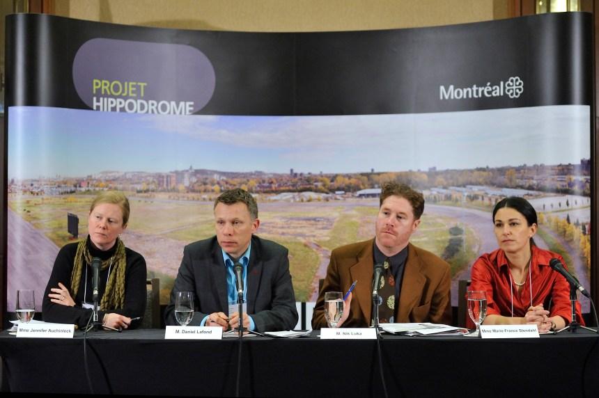 Le Projet hippodrome priorisera la santé des résidants
