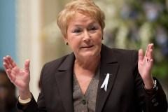 Inquiète, Pauline Marois veut se poser en ambassadrice de la langue française