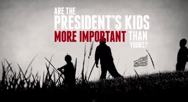 La NRA attaque Obama… et ses filles