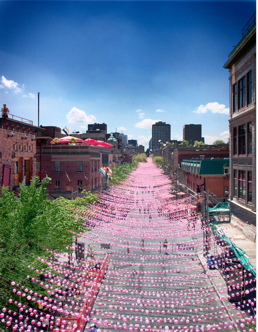 Voir la vie en rose à Montréal