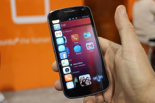Ubuntu Phone en 5 points (CES)