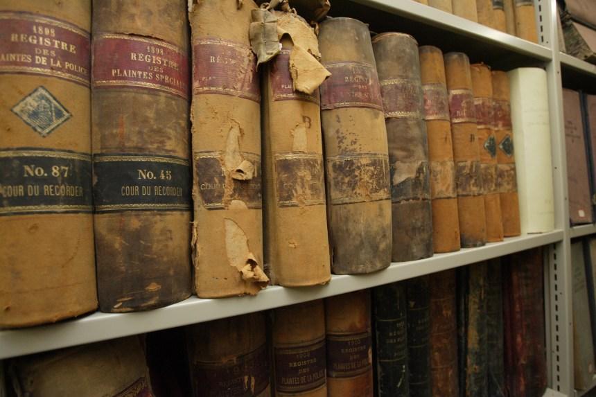 Les archives de Montréal ont 100 ans