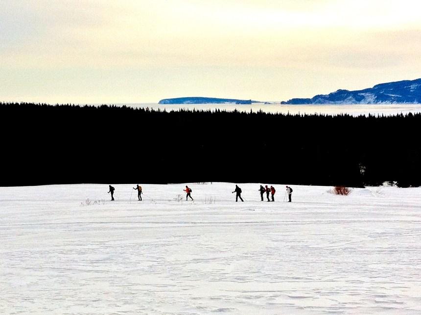 Vivre l'hiver à fond à la 11e Traversée de la  Gaspésie