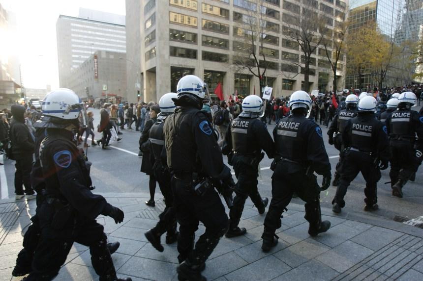 Manifs étudiantes: «machine à répression»