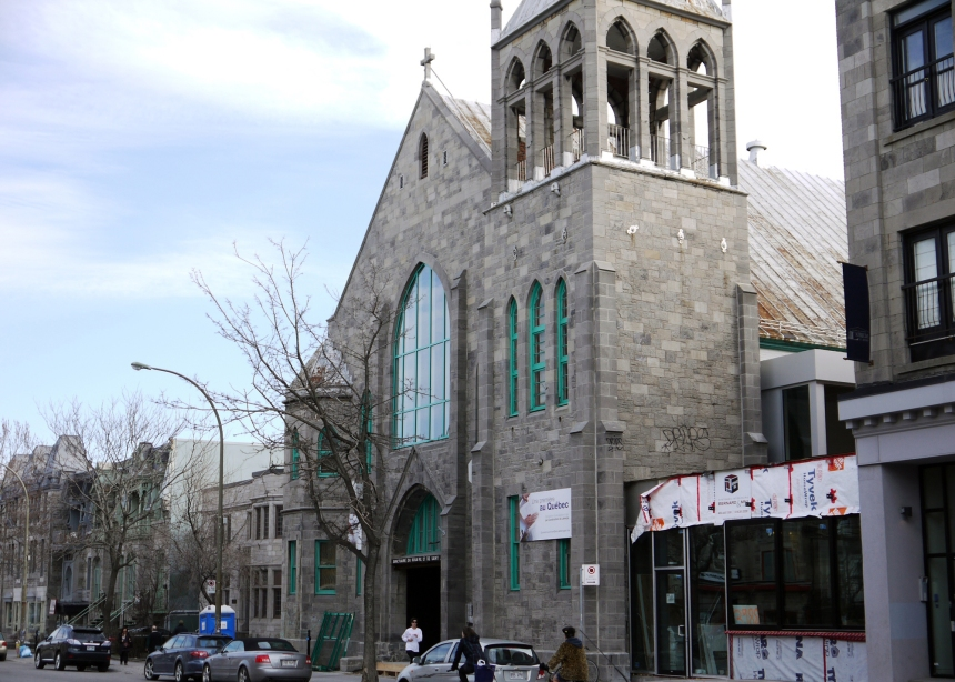 Nouvelle religion pour l'église Saint-Jude
