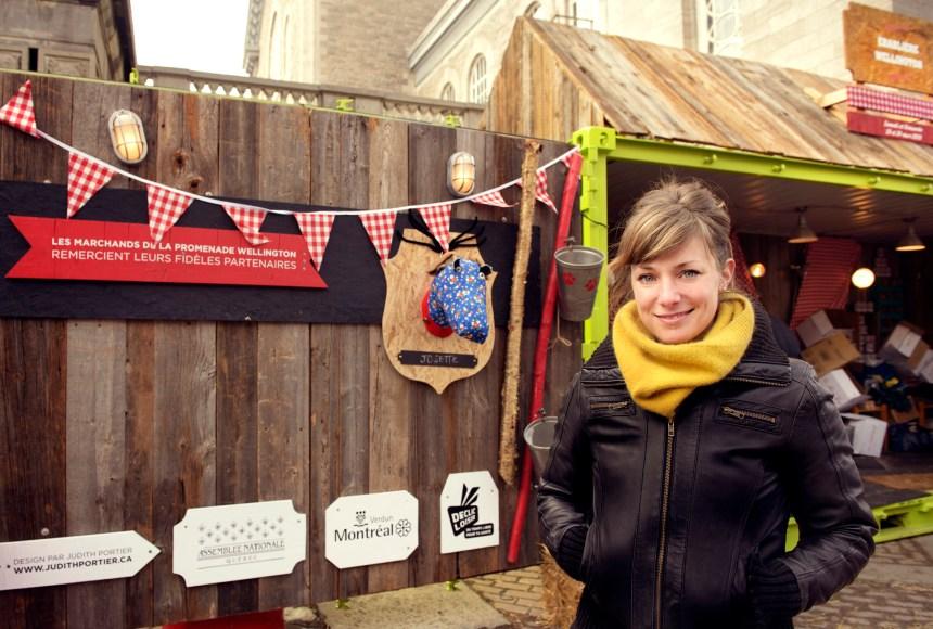 Judith Portier, designer de conteneurs