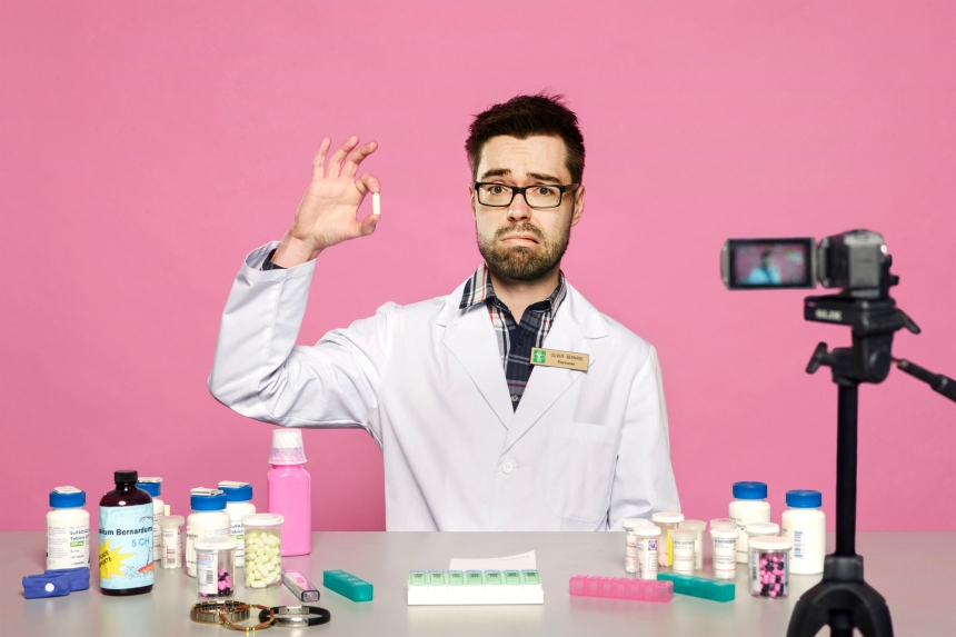 Olivier Bernard, le pharmachien