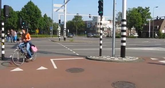 La sécurité à vélo inspirée des Pays-Bas