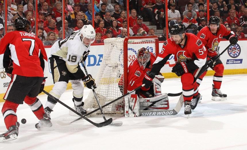 Penguins 7 – Sénateurs 3 : les Penguins à un gain de la finale de l'Est