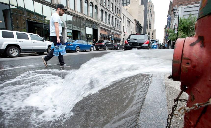 Avis d'ébullition de l'eau pour pratiquement tout Montréal