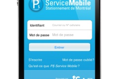 Réduction des frais de service de l'application P$ Service mobile
