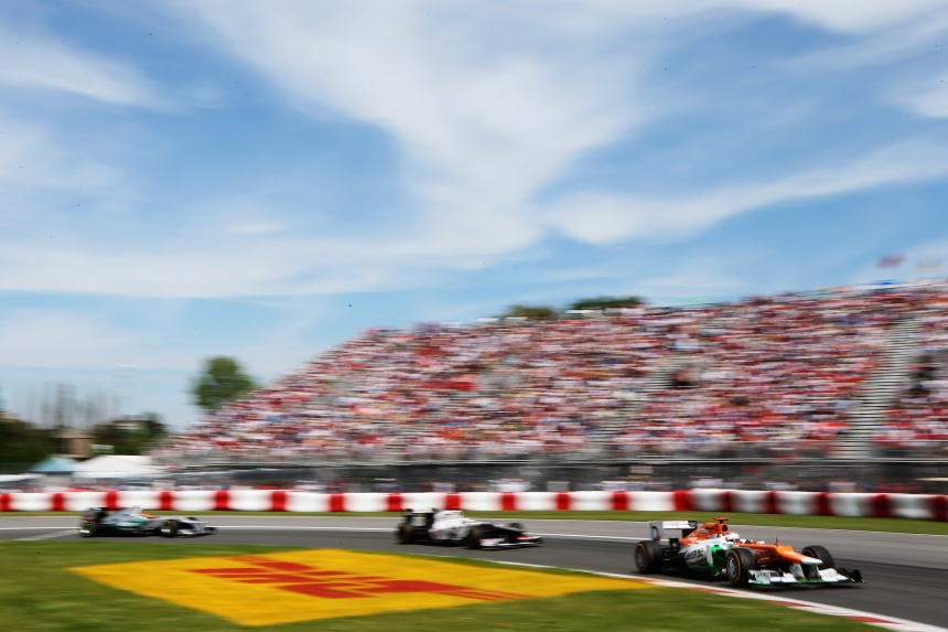 Grand Prix du Canada: portes ouvertes jeudi