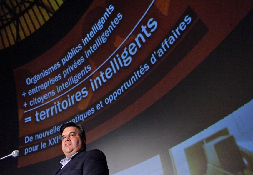 Denis Coderre veut rendre Montréal intelligente