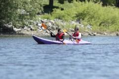 Un cours d'histoire montréalaise les fesses dans l'eau