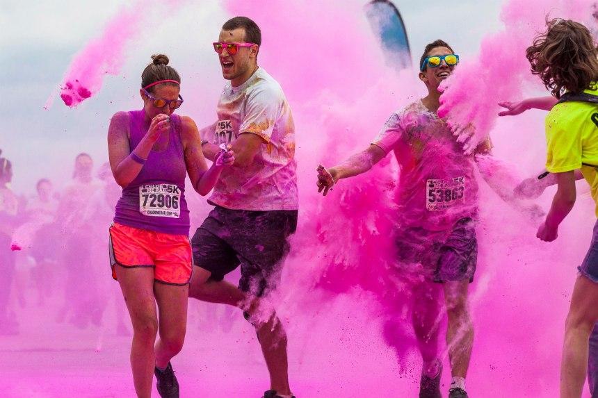 La course Color Me RAD