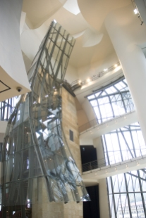 Intérieur musée - Fournie par Guggenheim