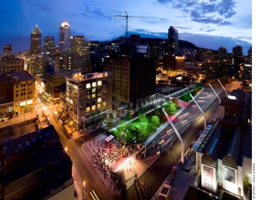 Quatre projets montréalais pour une ville intelligente
