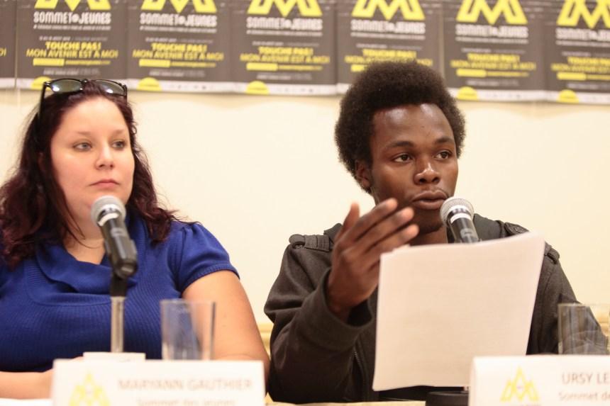Un Sommet des jeunes avec peu de soutien gouvernemental