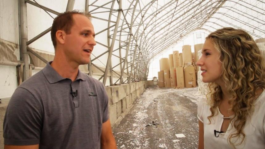 En vidéo: échangeurs d'air pour sécher du papier